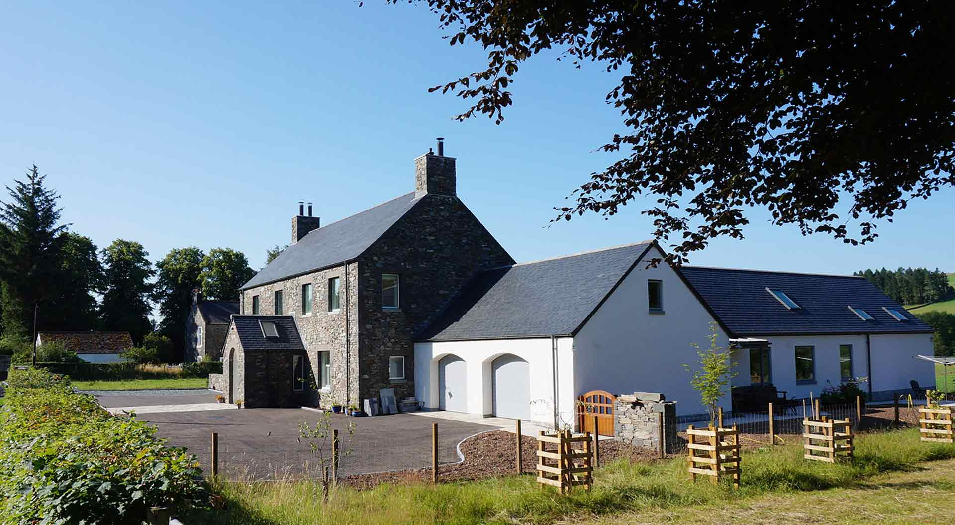 Modern house designs john murray architect scotland for Traditional house designs uk